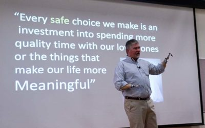Lee Shelby Delivers Safety Message
