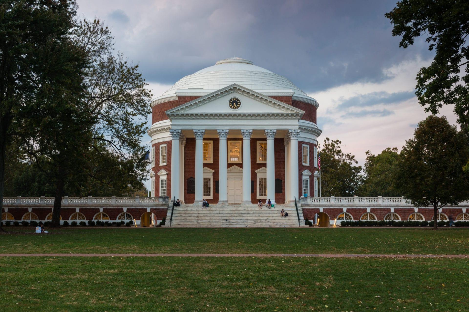 University Of Virginia Rotunda Riddleberger Brothers Inc