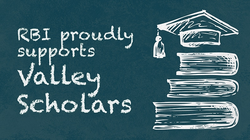 RBI Sponsors Valley Scholars Program