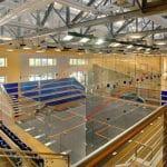 UVA Squash - Interior 2 - Court