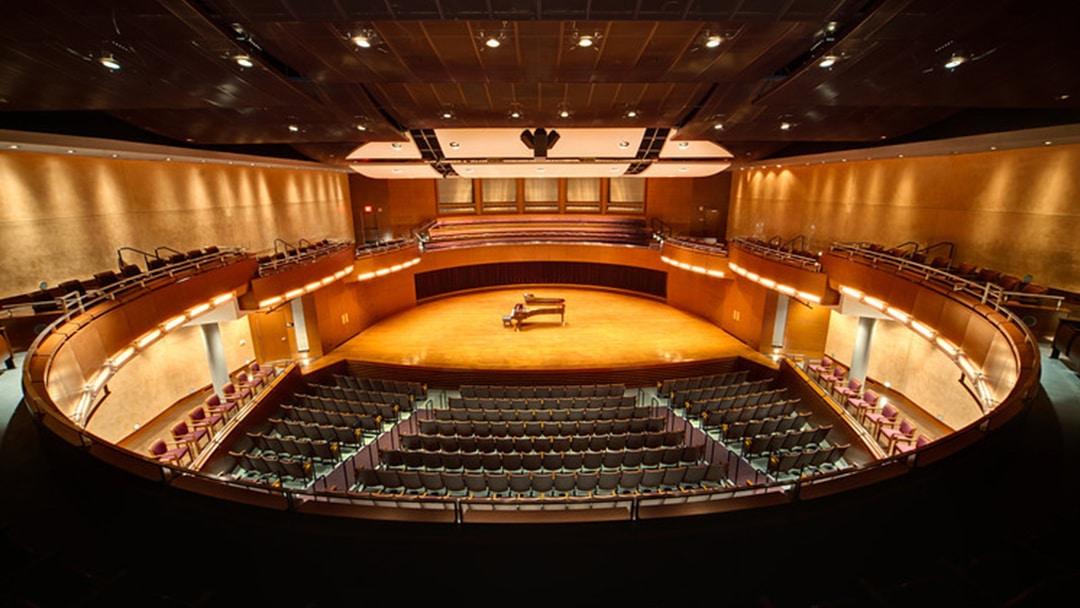 JMU Forbes - Interior 1 - Theater