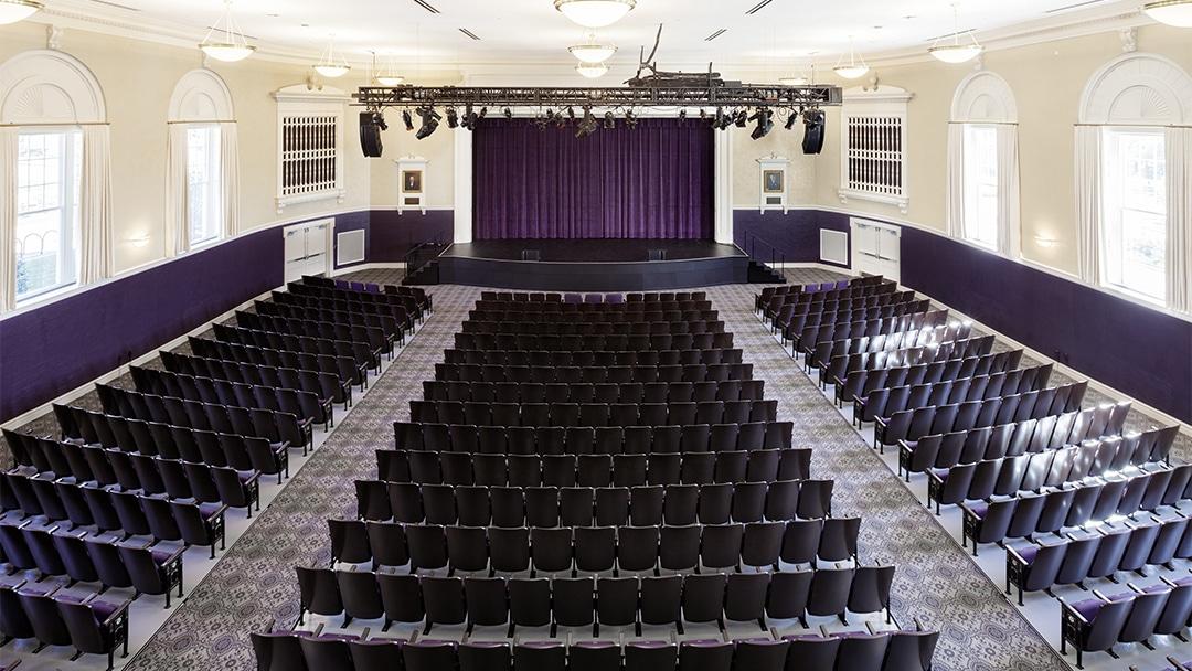 JMU Wilson Hall - Interior 1 - Theater